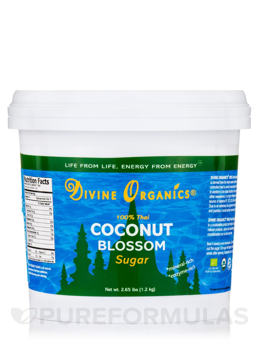 100% Pure Organic Thai Coconut Sugar - 2.65 lbs (1.2 Kg)