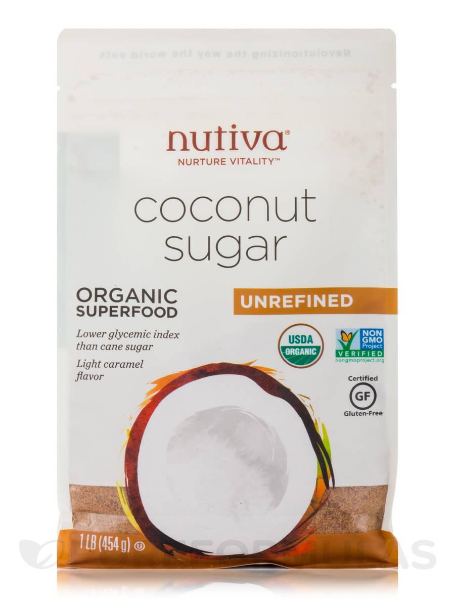 Organic Coconut Sugar - 16 oz (454 Grams)