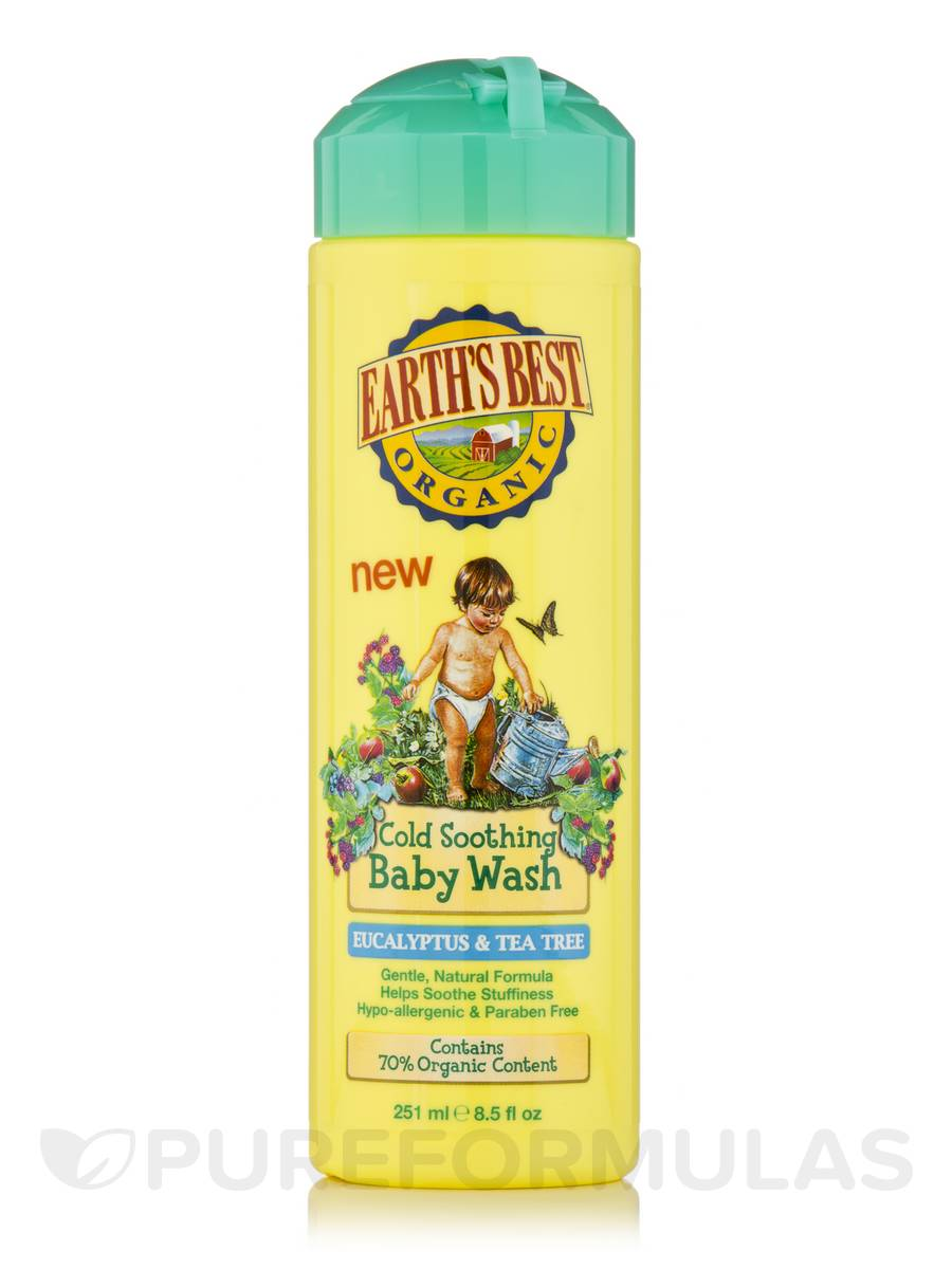 Cold Soothing Baby Wash - 8.5 fl. oz (251 ml)