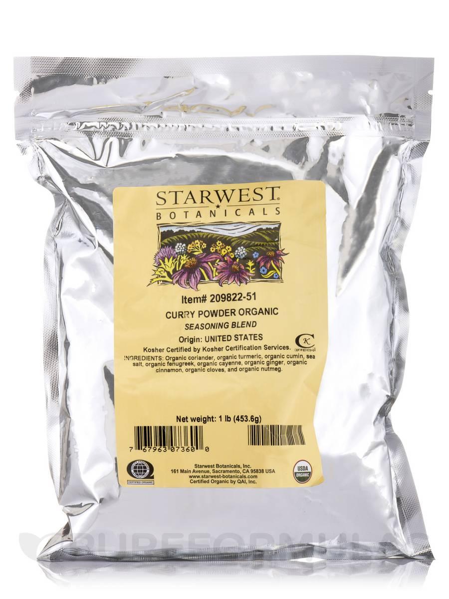 Organic Curry Powder - 1 lb (453.6 Grams)