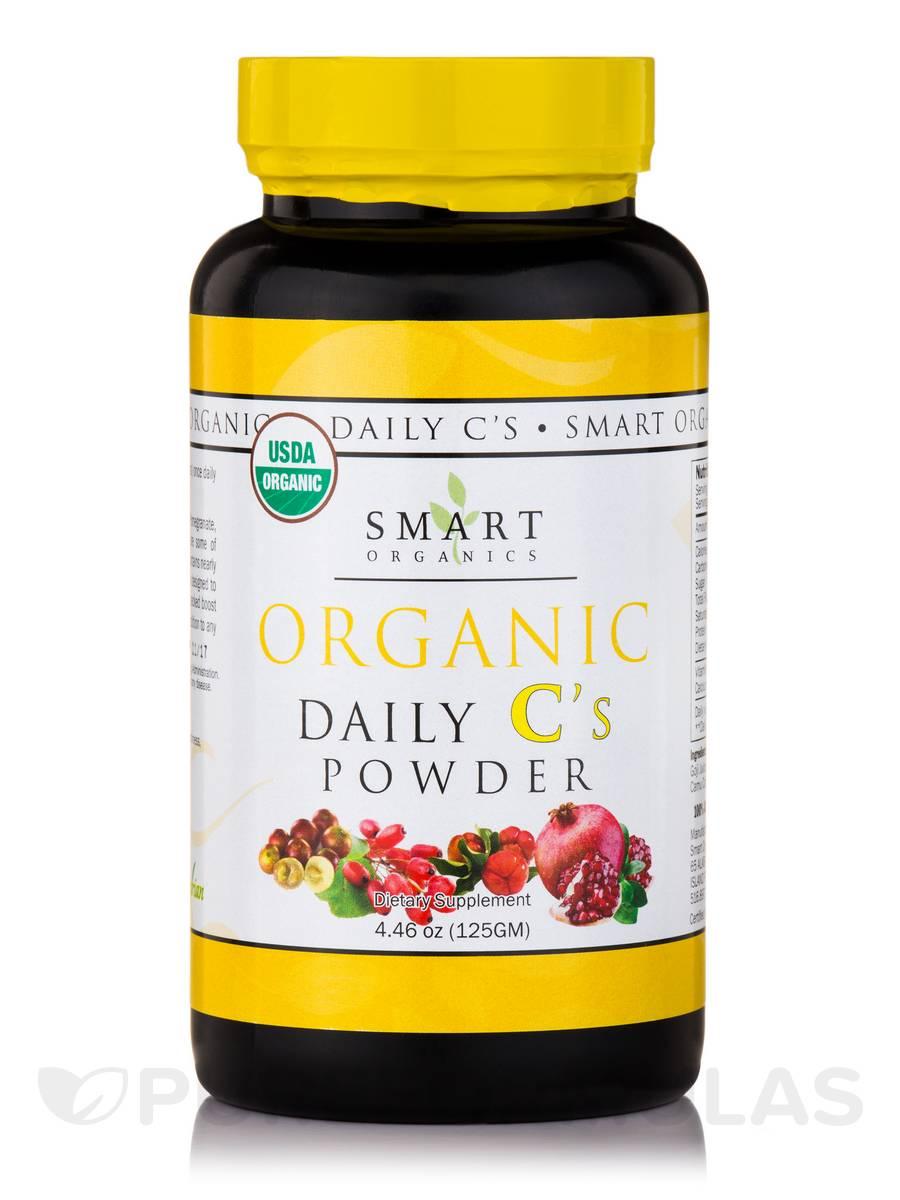 Organic Daily C's Powder - 4.46 oz (125 Grams)