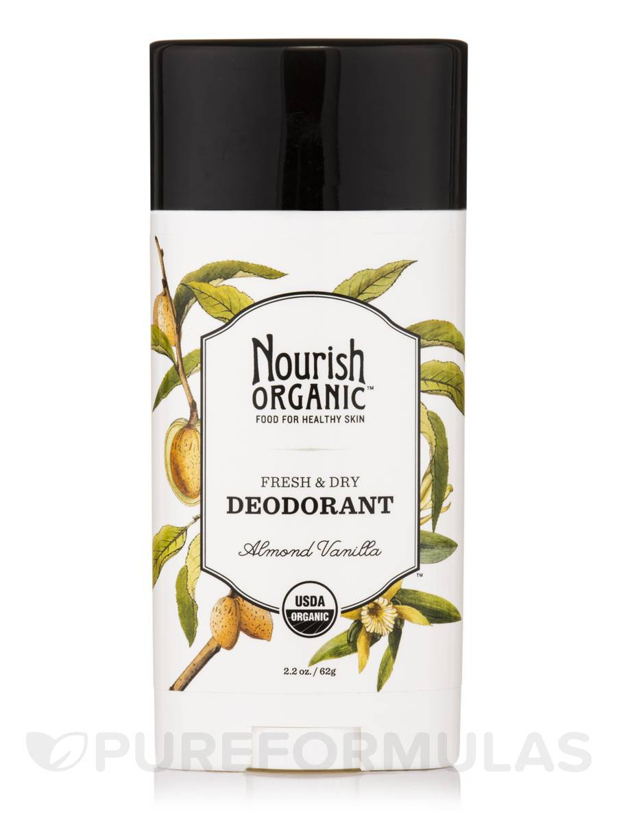 Fresh and Dry Deodorant (Almond Vanilla) - 2.2 oz (62 Grams)