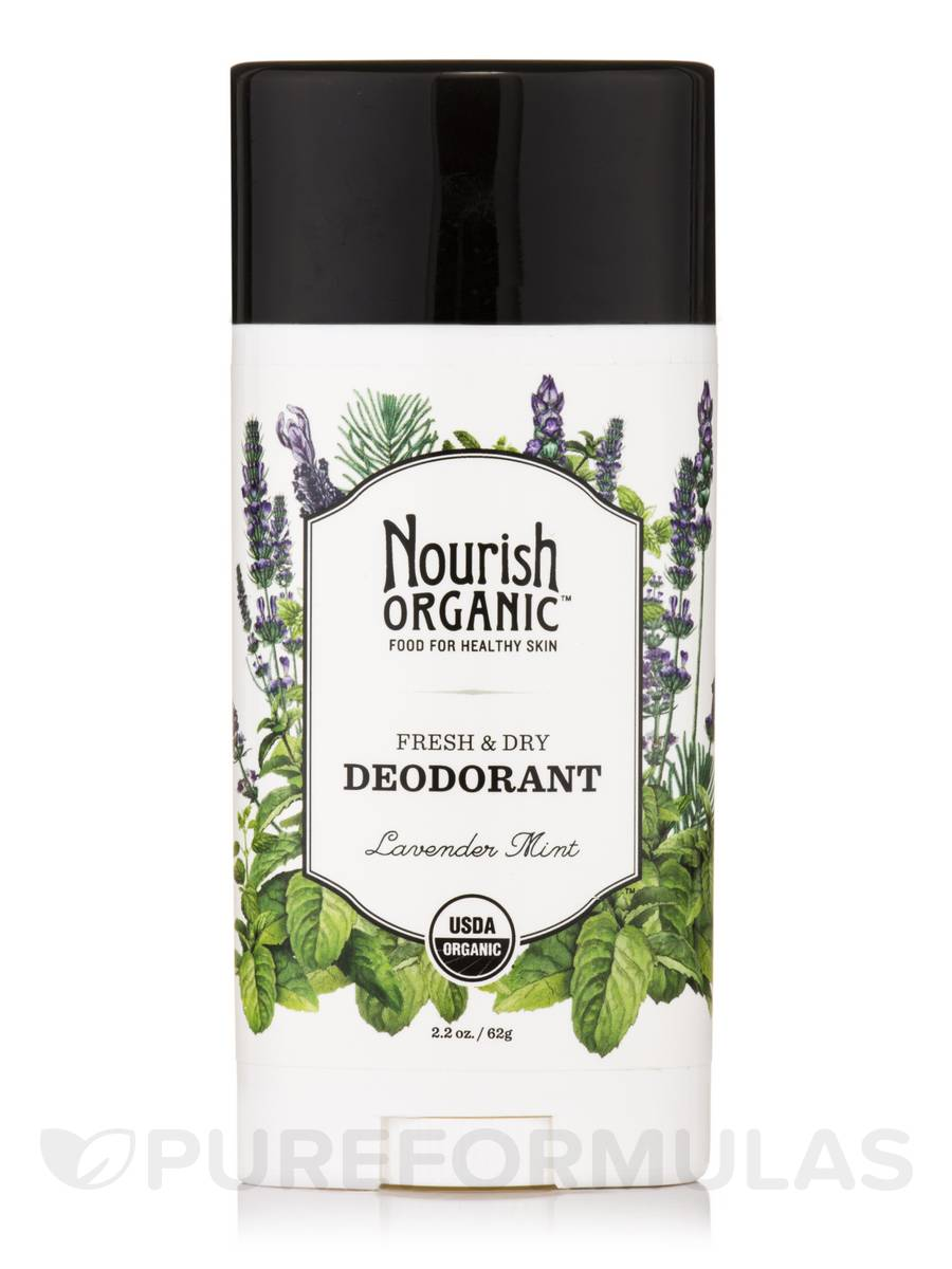 Fresh and Dry Deodorant Stick, Lavender Mint - 2.2 oz (62 Grams)