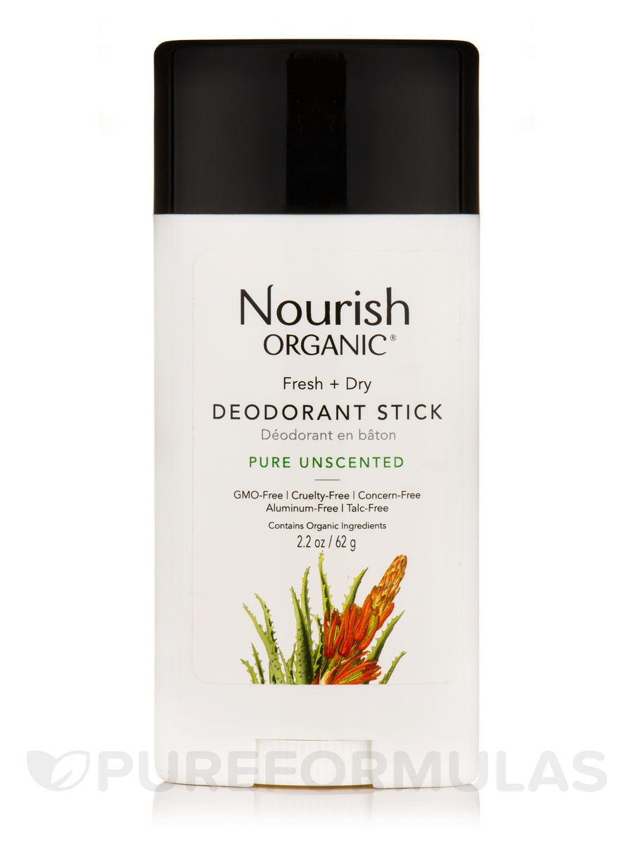 Fresh and Dry Deodorant (Pure Unscented) - 2.2 oz (62 Grams)
