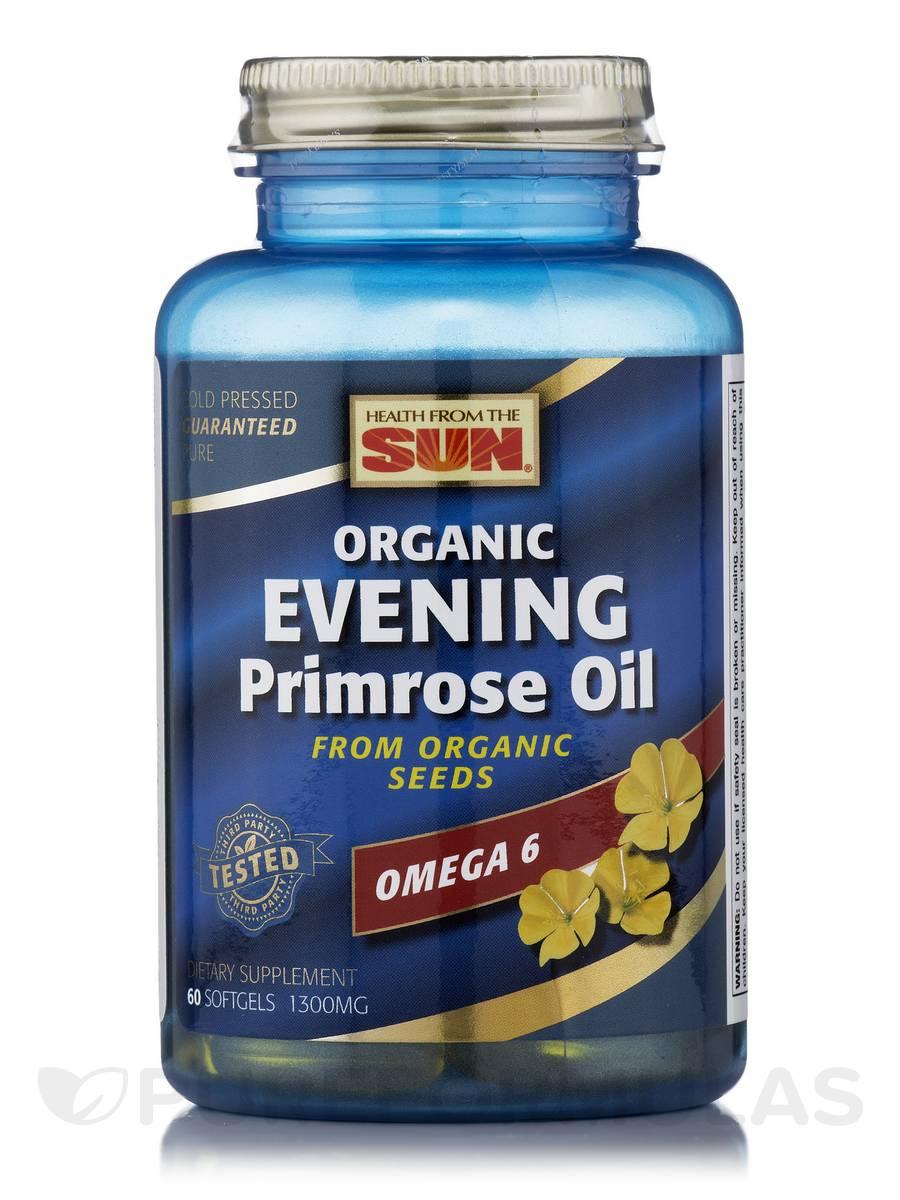 Organic Evening Primrose Oil - 60 Softgels