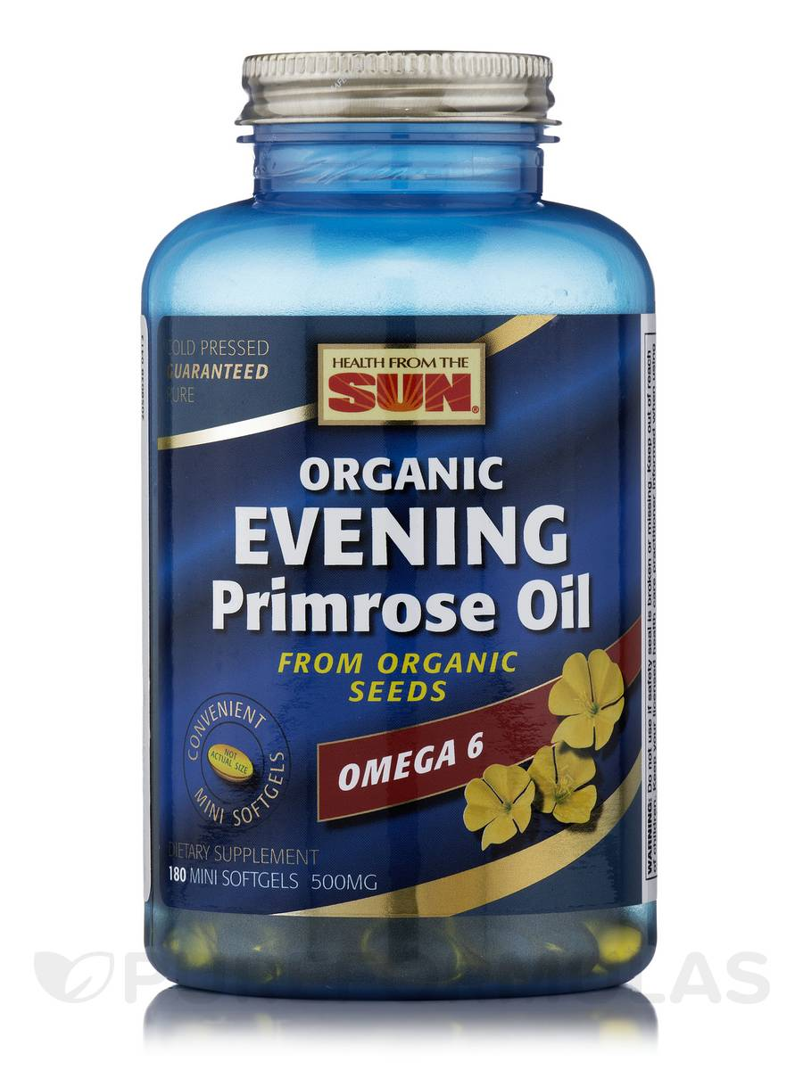 Evening Primrose Oil 500 mg - 180 Mini Softgels