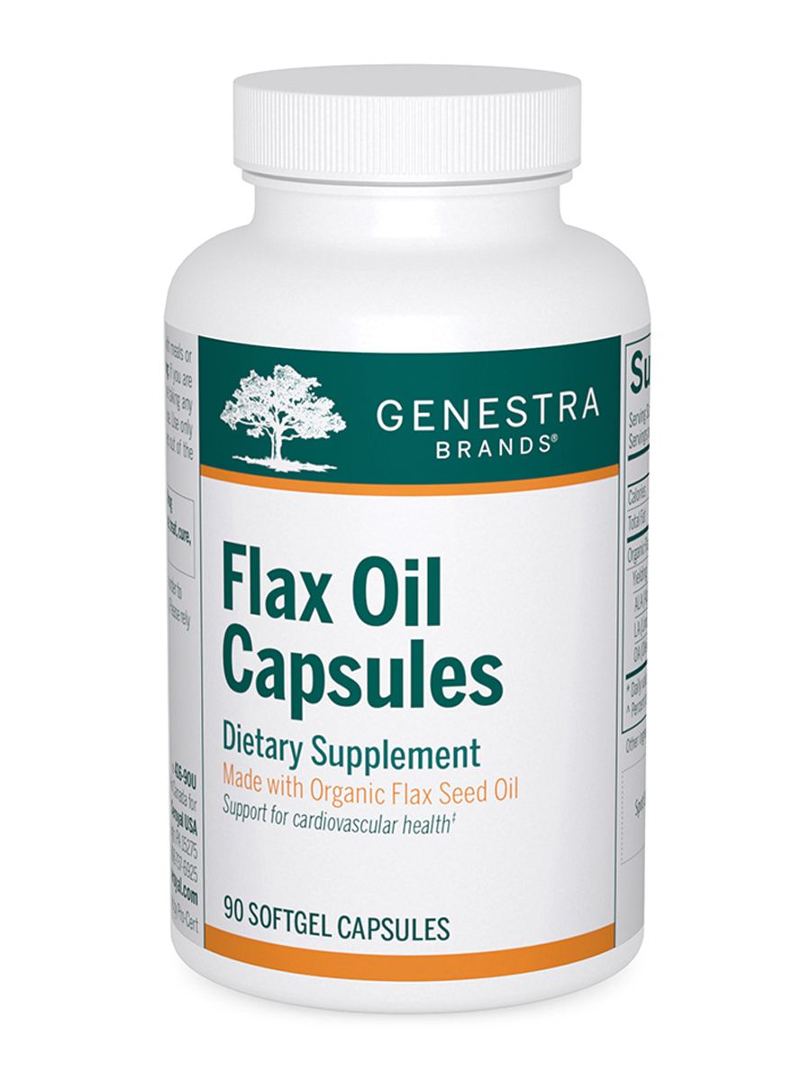 Flax Oil Capsules - 90 Softgel Capsules