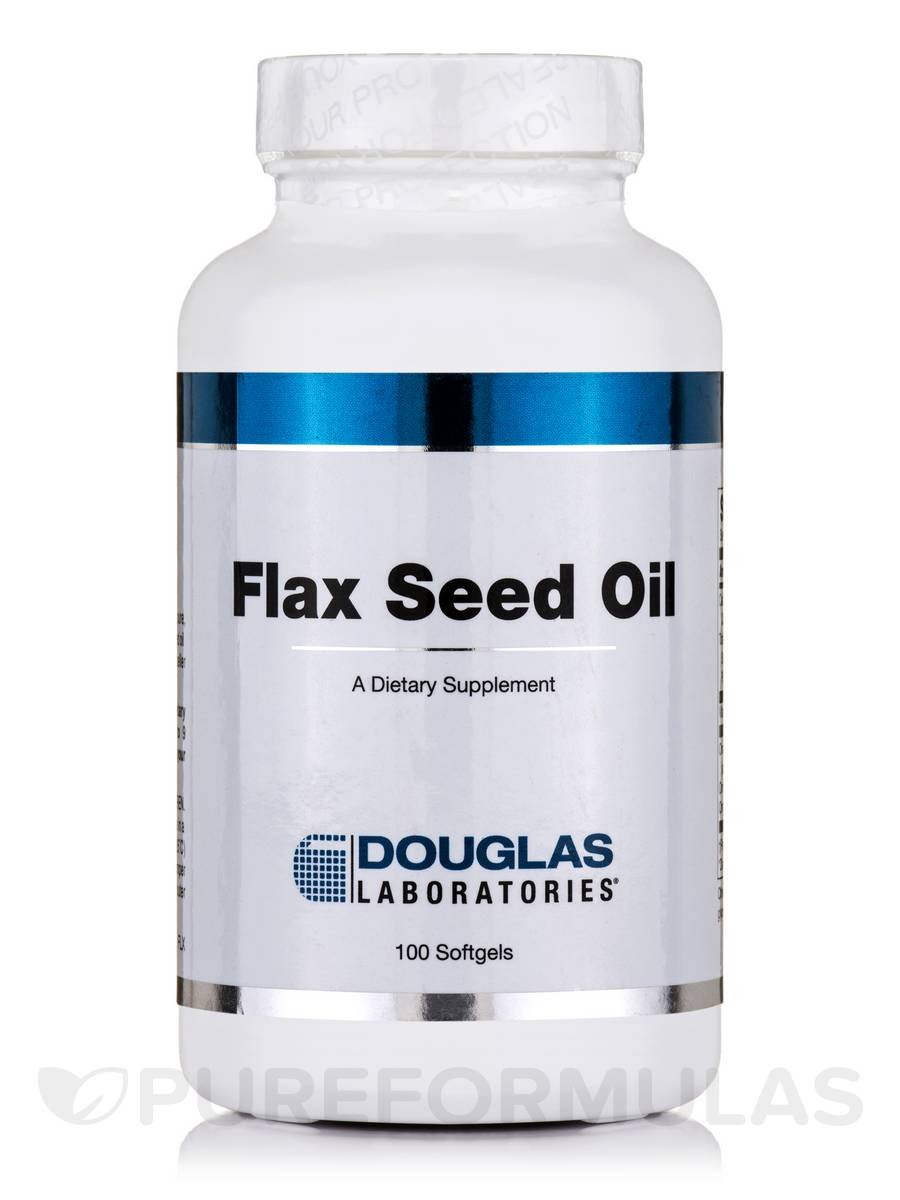 Flax Seed Oil - 100 Softgels