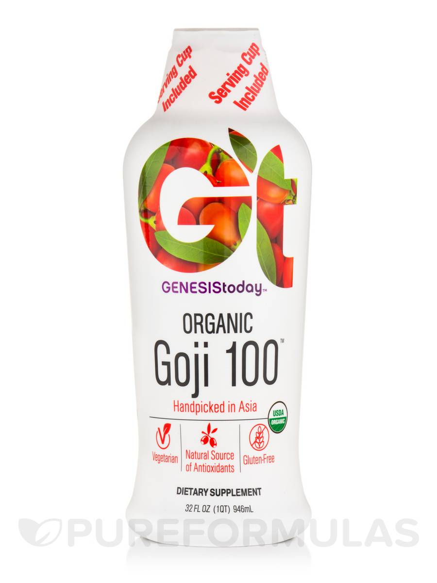 Organic Goji 100™ - 32 fl. oz (946 ml)