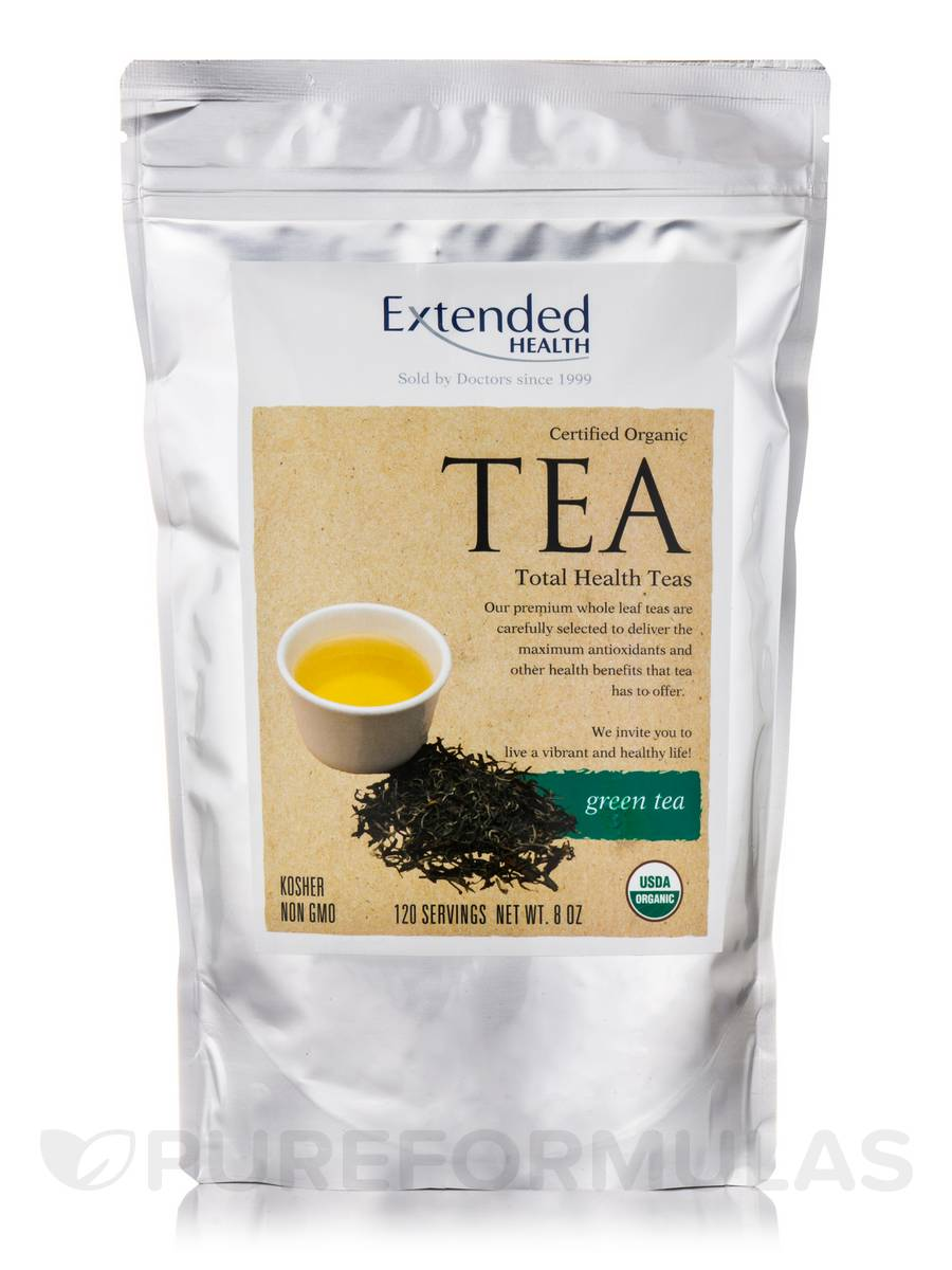 Organic Green Tea - 8 oz