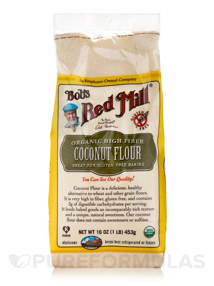 Organic High-Fiber Coconut Flour