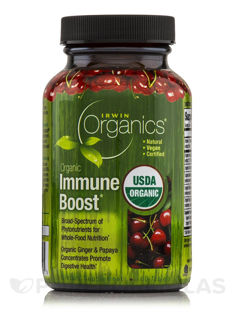 Organic Immune Boost - 60 Tablets