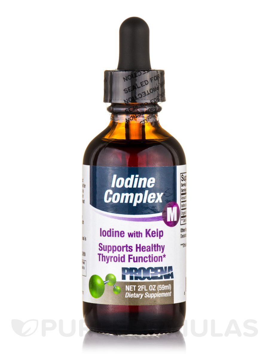 Organic Iodine - 1 fl. oz (30 ml)