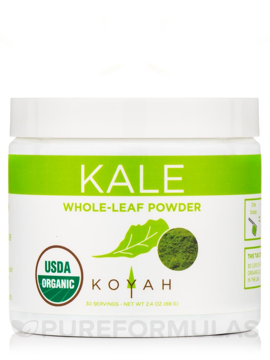 Organic Kale Powder - 2.4 oz (69 Grams)