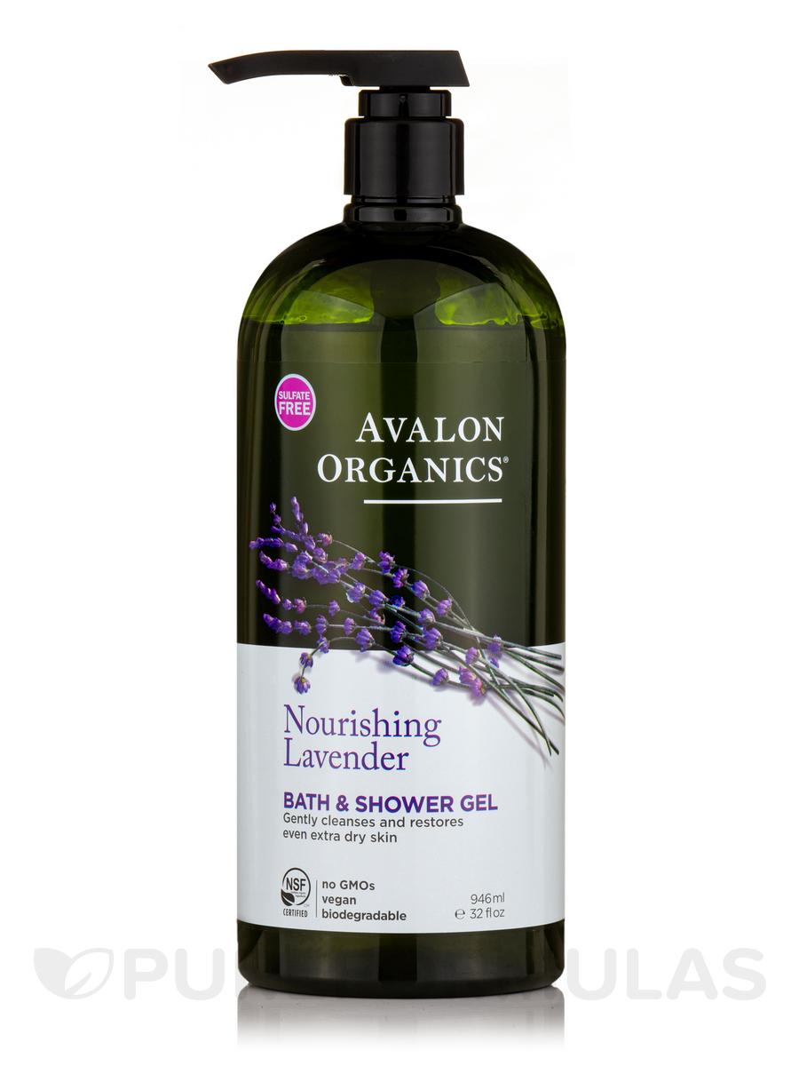 Nourishing Lavender Bath & Shower Gel - 32 fl. oz (946 ml)