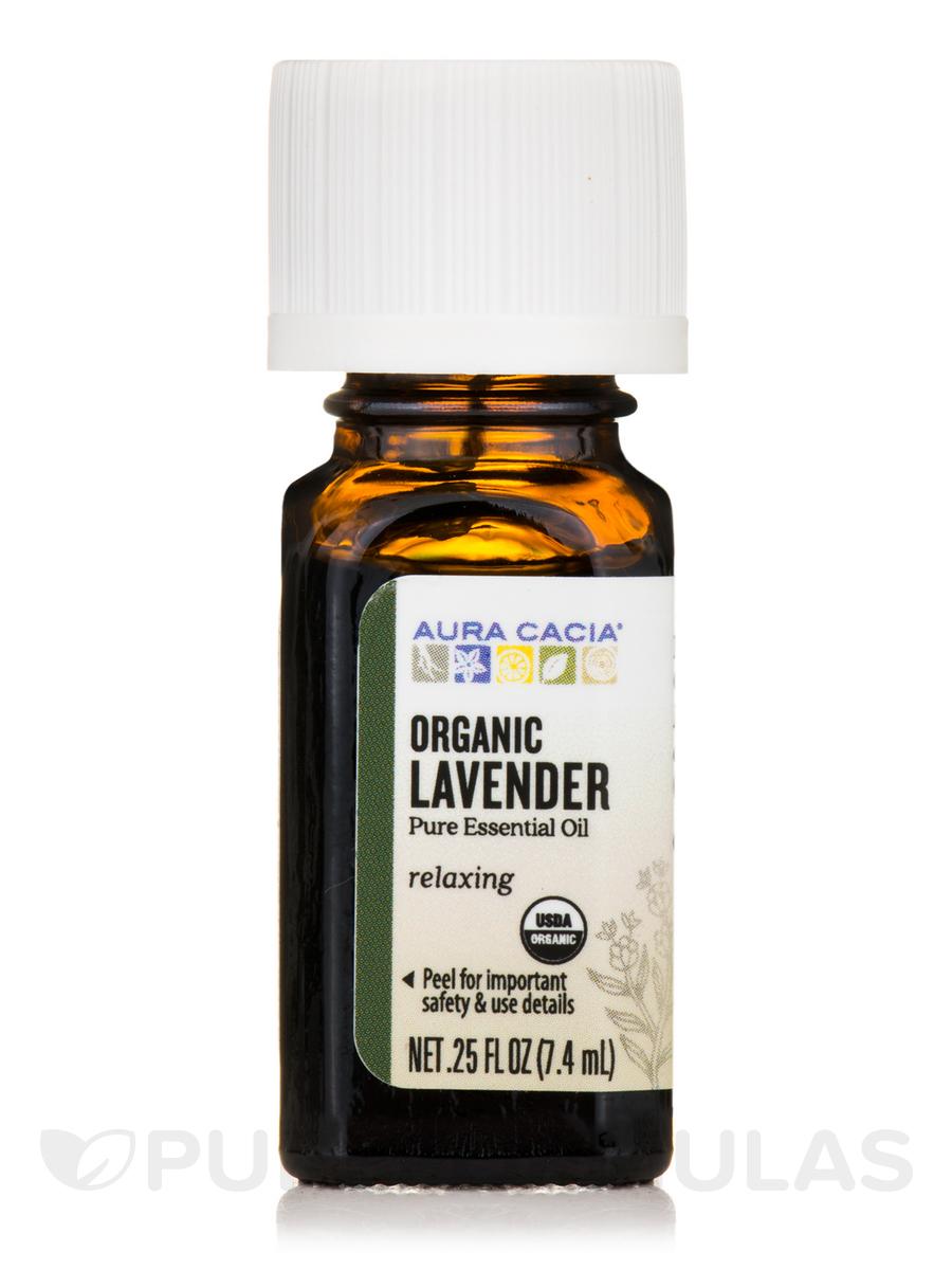 Organic Lavender Essential Oil - 0.25 fl. oz (7.4 ml)