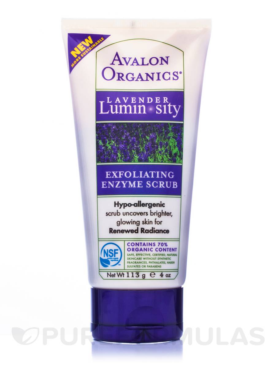Lavender Exfoliating Enzyme Scrub - 4 oz (113 Grams)