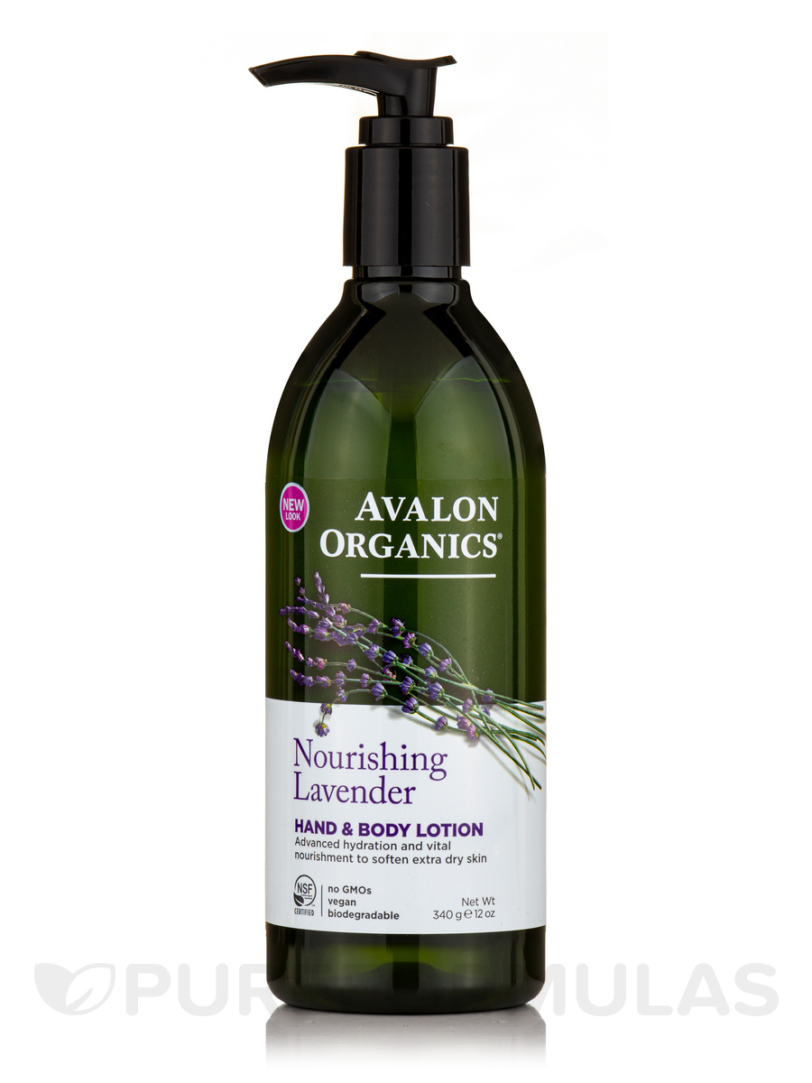 Lavender Hand & Body Lotion - 12 oz (340 Grams)