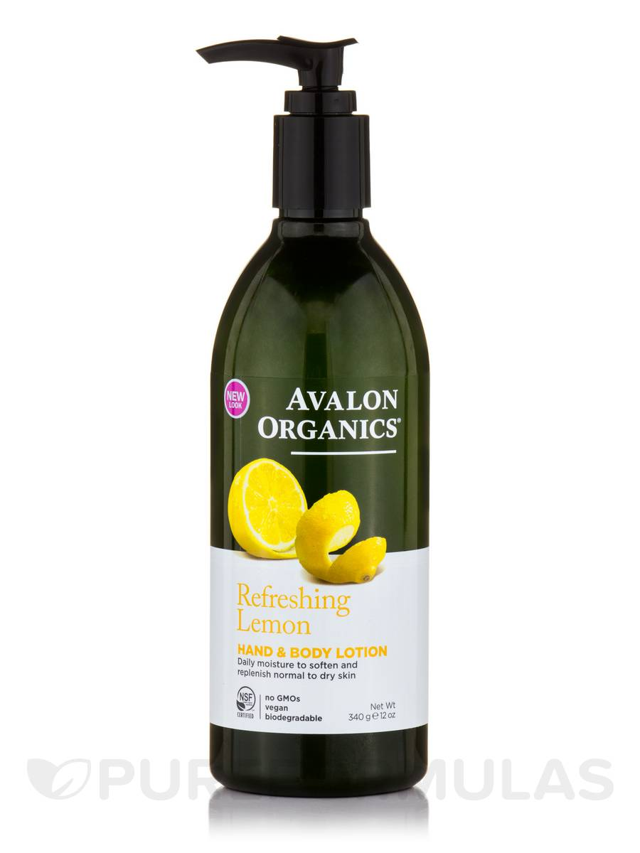Lemon Hand and Body Lotion - 12 oz (340 Grams)