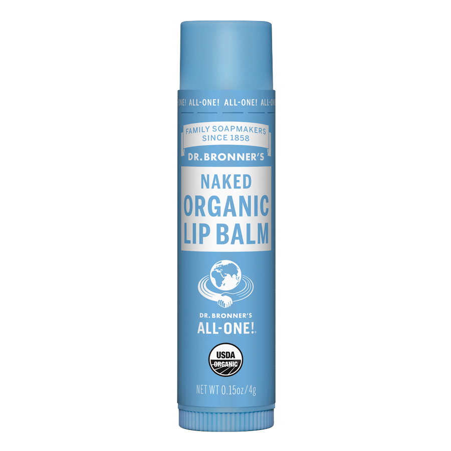 Organic Lip Balm Naked - 0.15 oz (4 Grams)