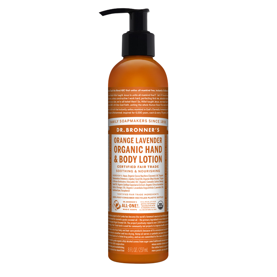 Organic Lotion Orange Lavender - 8 fl. oz (237 ml)