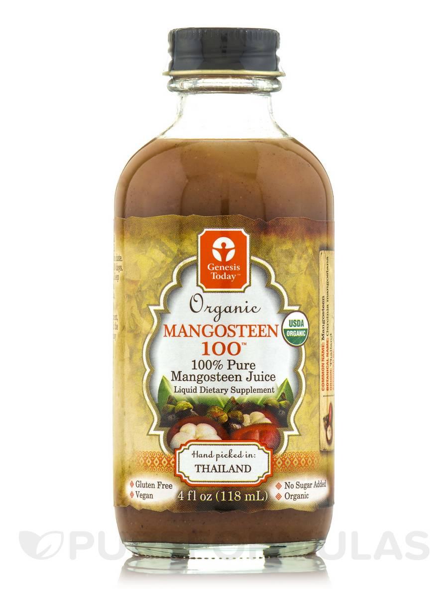 Organic Mangosteen 100 - 4 fl. oz (118 ml)