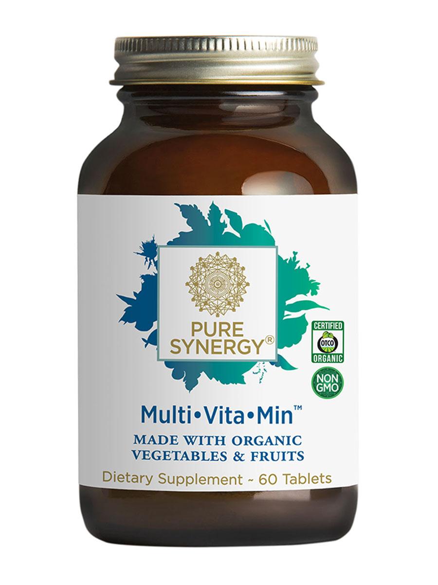 Organic Multi Vita-Min™ - 60 Vegetable Tablets