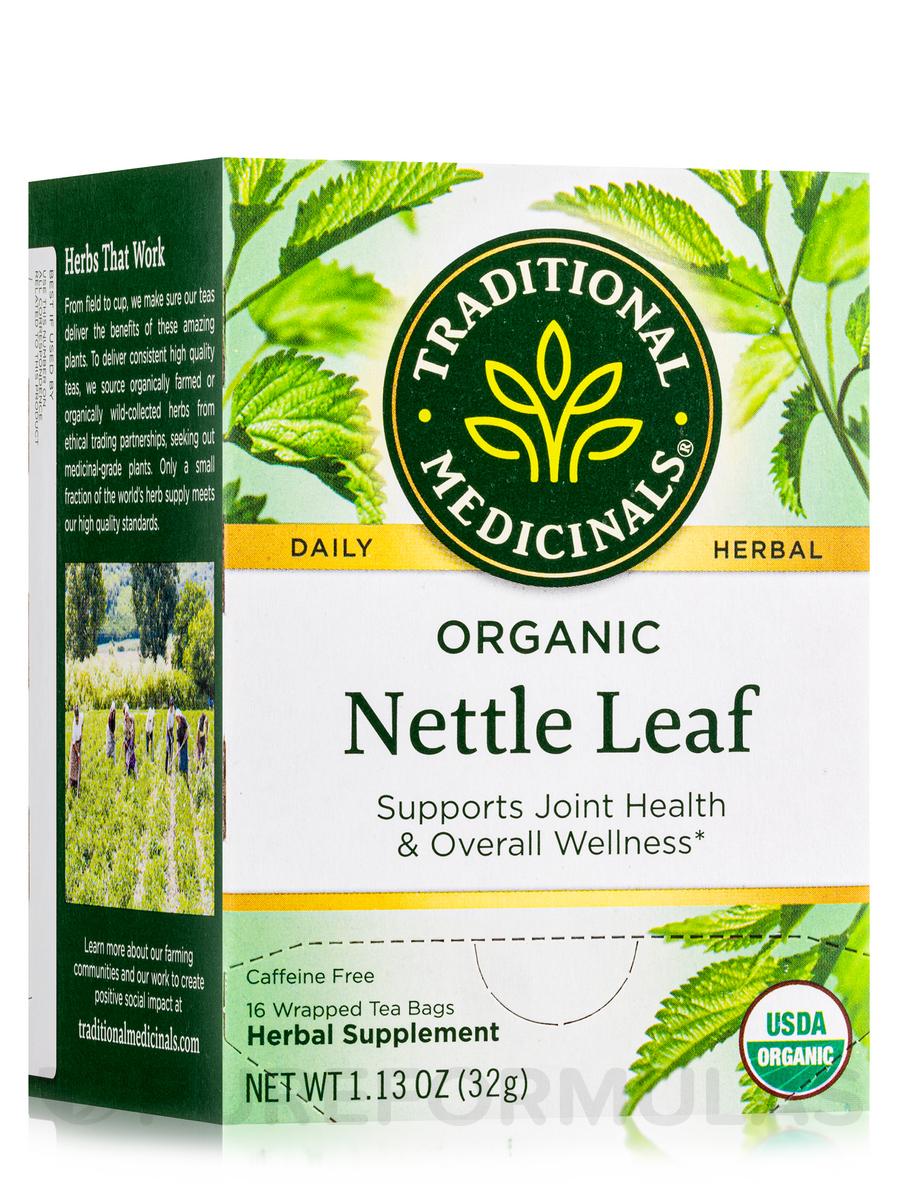 Organic Nettle Leaf Tea - 16 Tea Bags