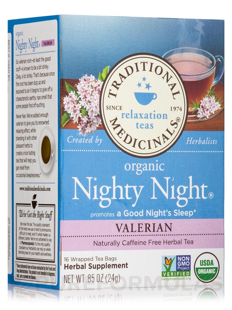 Organic Nighty Night Valerian Tea - 16 Tea Bags
