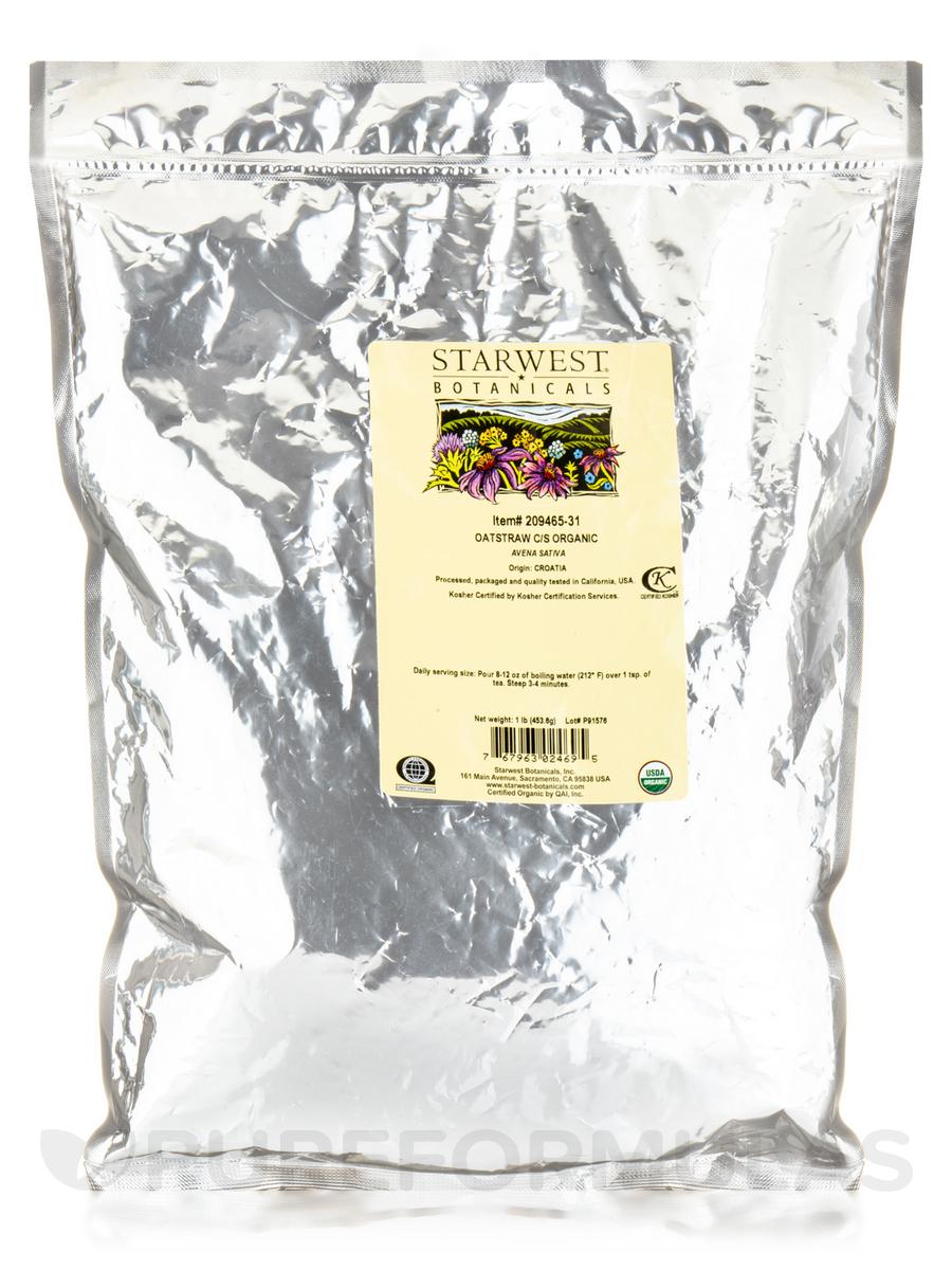 Organic Oatstraw - 1 lb (453.6 Grams)