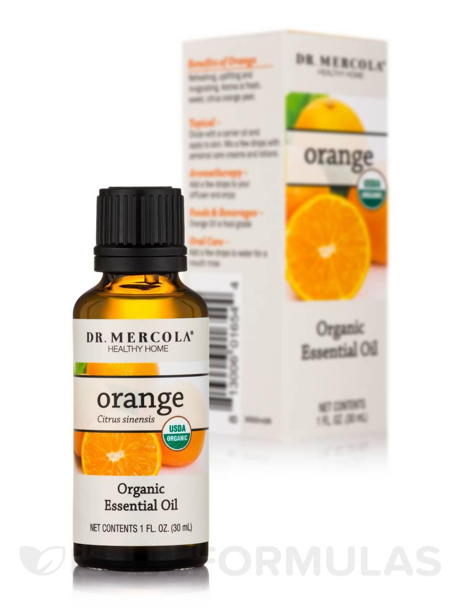 Organic Orange Essential Oil - 1 fl. oz (30 ml)