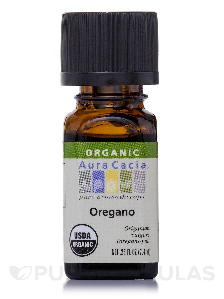 Organic Oregano Essential Oil - 0.25 fl. oz (7.4 ml)