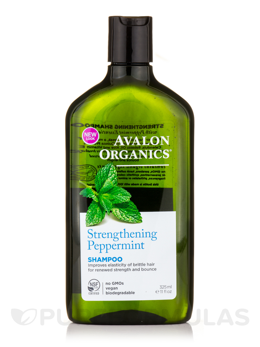Peppermint Strengthening Shampoo - 11 fl. oz (325 ml)