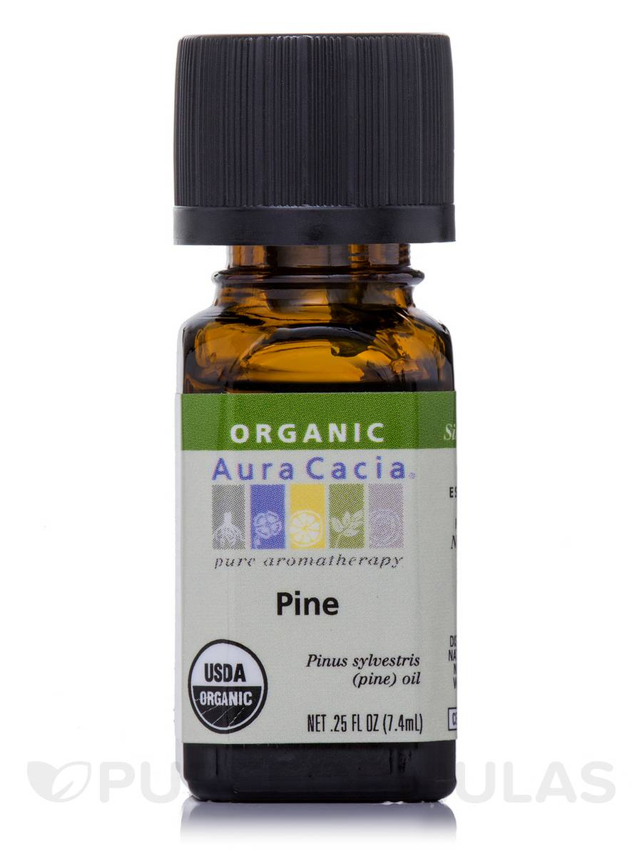 Organic Pine Essential Oil - 0.25 fl. oz (7.4 ml)