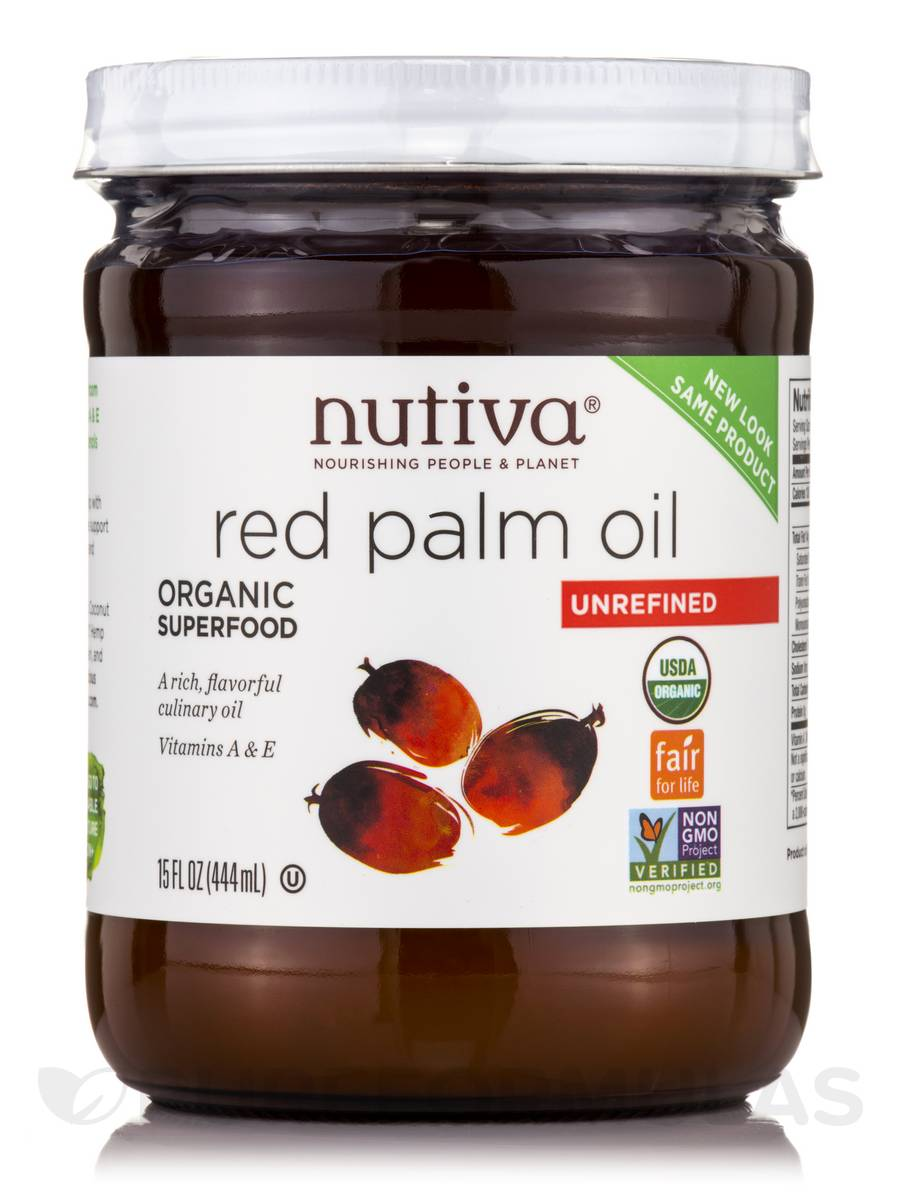 Organic Red Palm Oil - 15 fl. oz (444 ml)