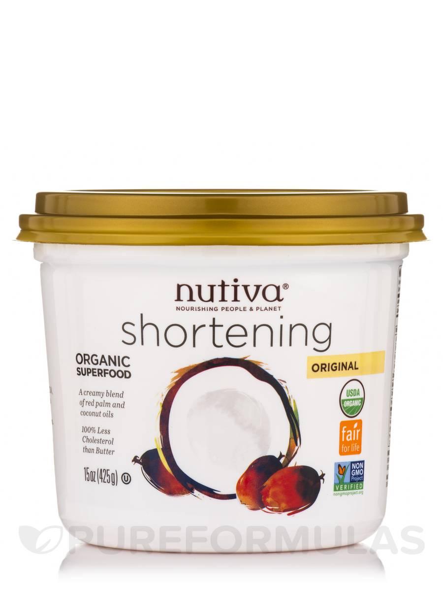 Organic Red Palm Shortening - 15 oz (425 Grams)