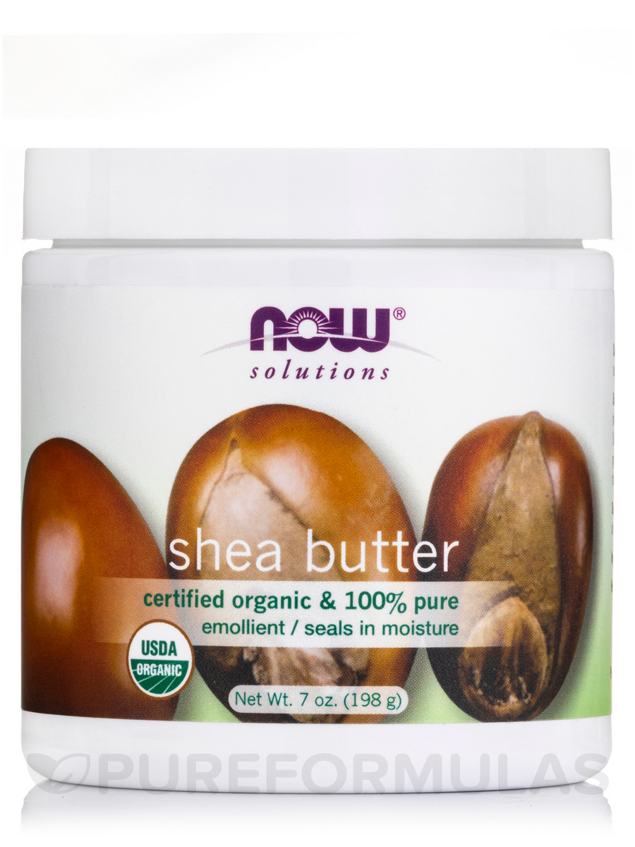 NOW® Solutions - Organic Shea Butter - 7 fl. oz (207 ml)