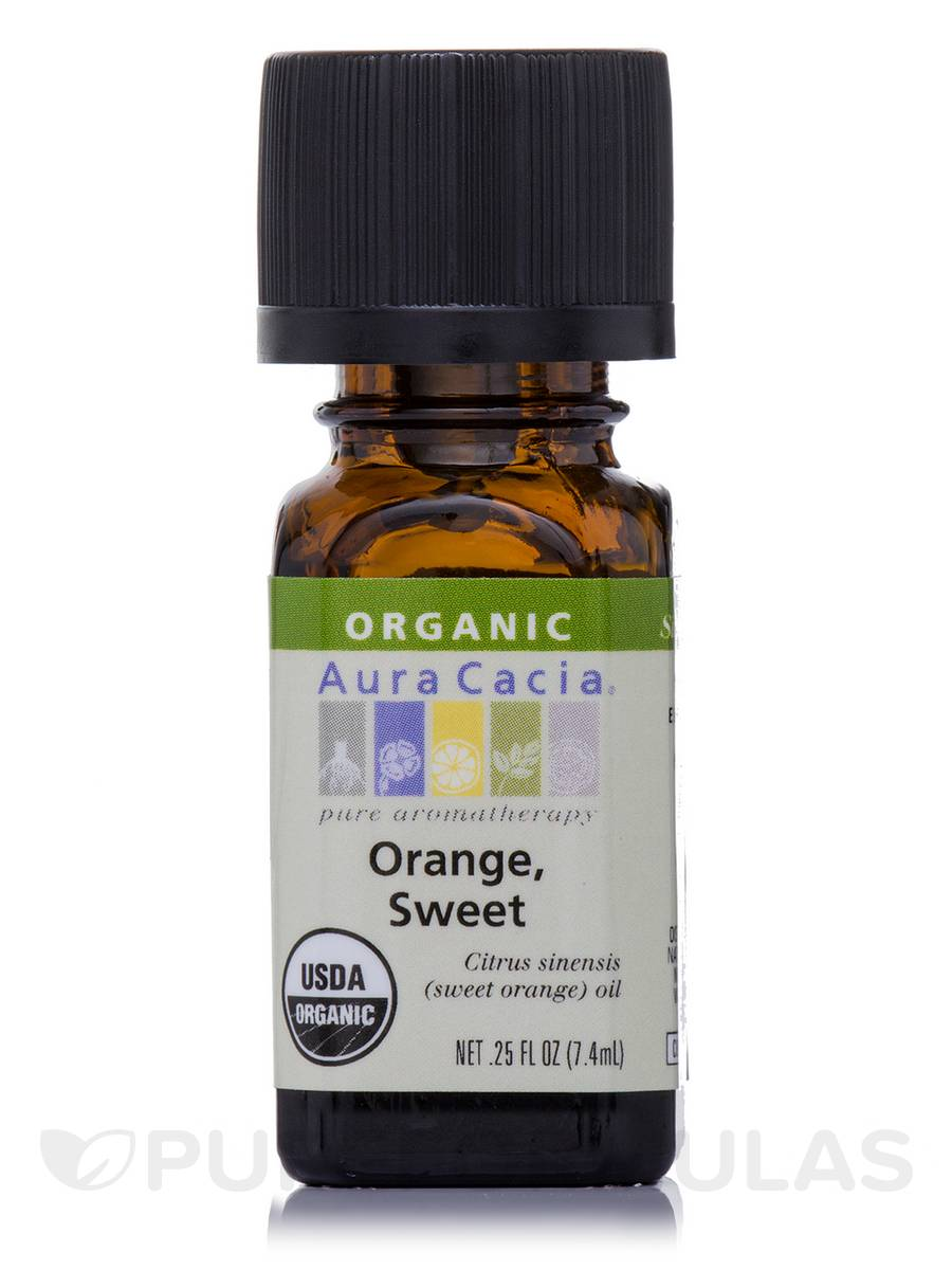 Orange, Sweet Essential Oil - 0.25 fl. oz (7.4 ml)