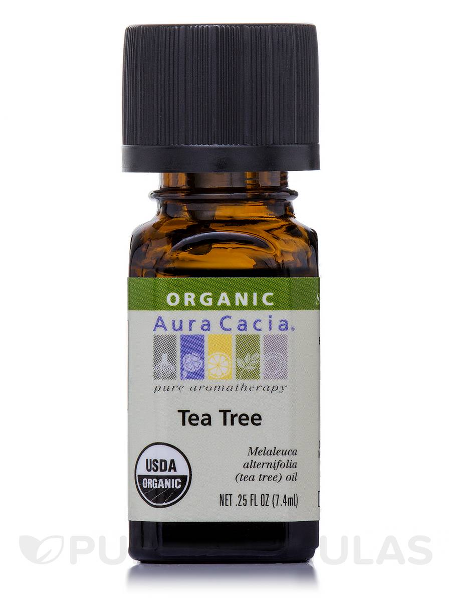 Organic Tea Tree Essential Oil - 0.25 fl. oz (7.4 ml)