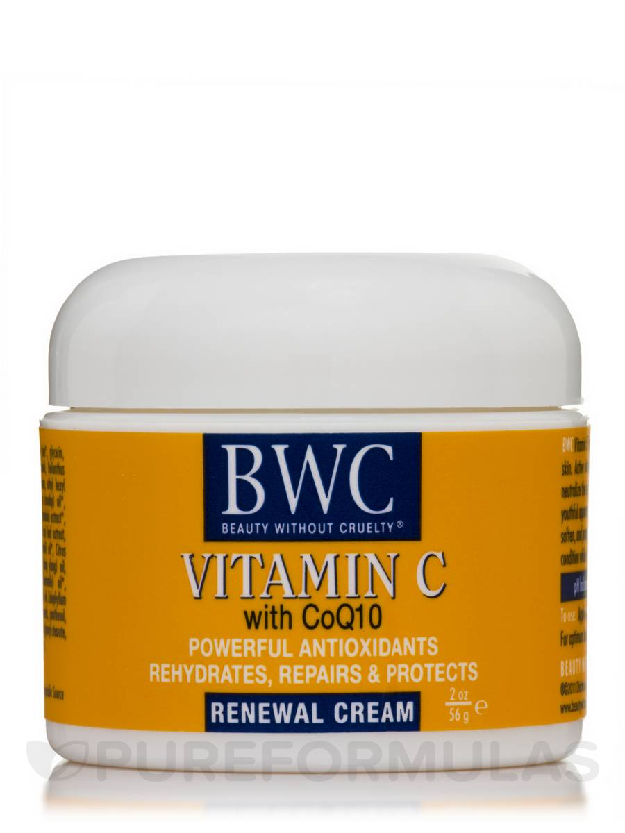 Organic Vitamin C With CoQ 10 Renewal Cream - 2 oz (56 Grams)