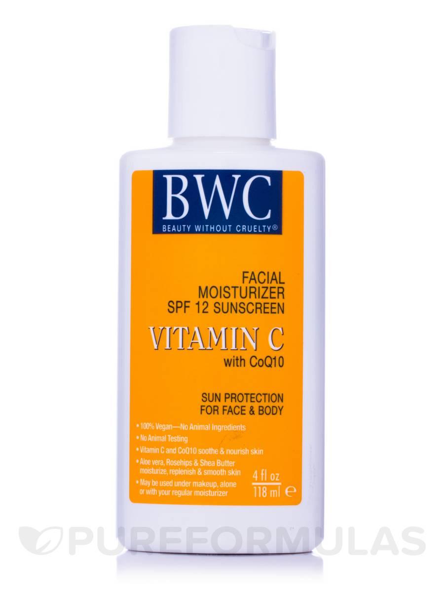 Vitamin C with CoQ 10 Facial Moisturizer SPF12 Sunscreen - 4 fl. oz (118 ml)