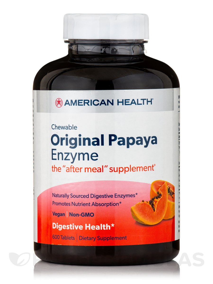 Original Papaya Enzyme - 600 Chewable Tablets