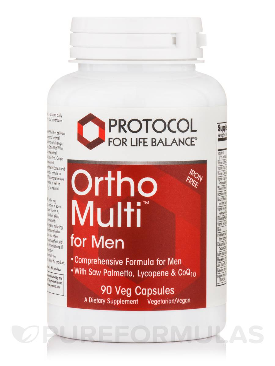 Ortho Multi™ for Men - 90 Vegetarian Capsules