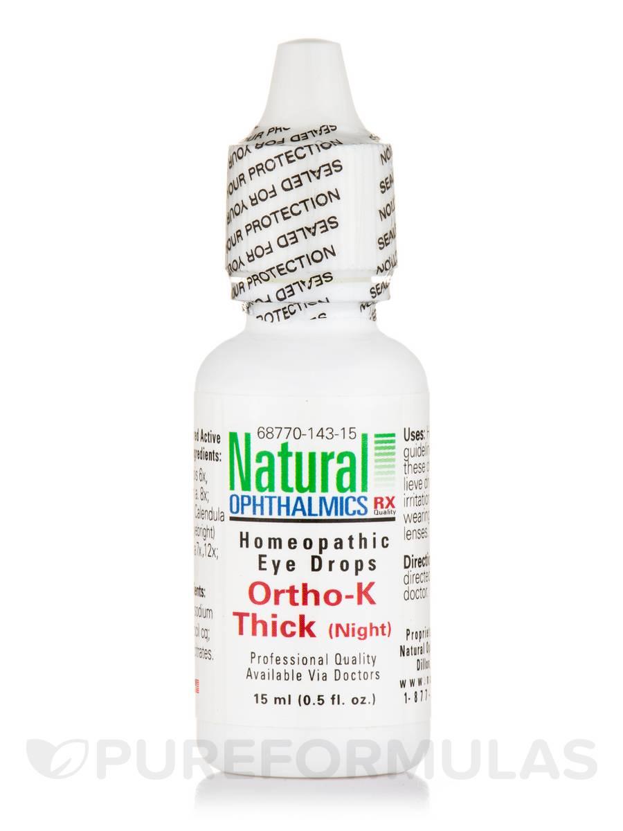 Ortho-K Thick (Night) Homeopathic Eye Drops - 0.5 fl. oz (15 ml)