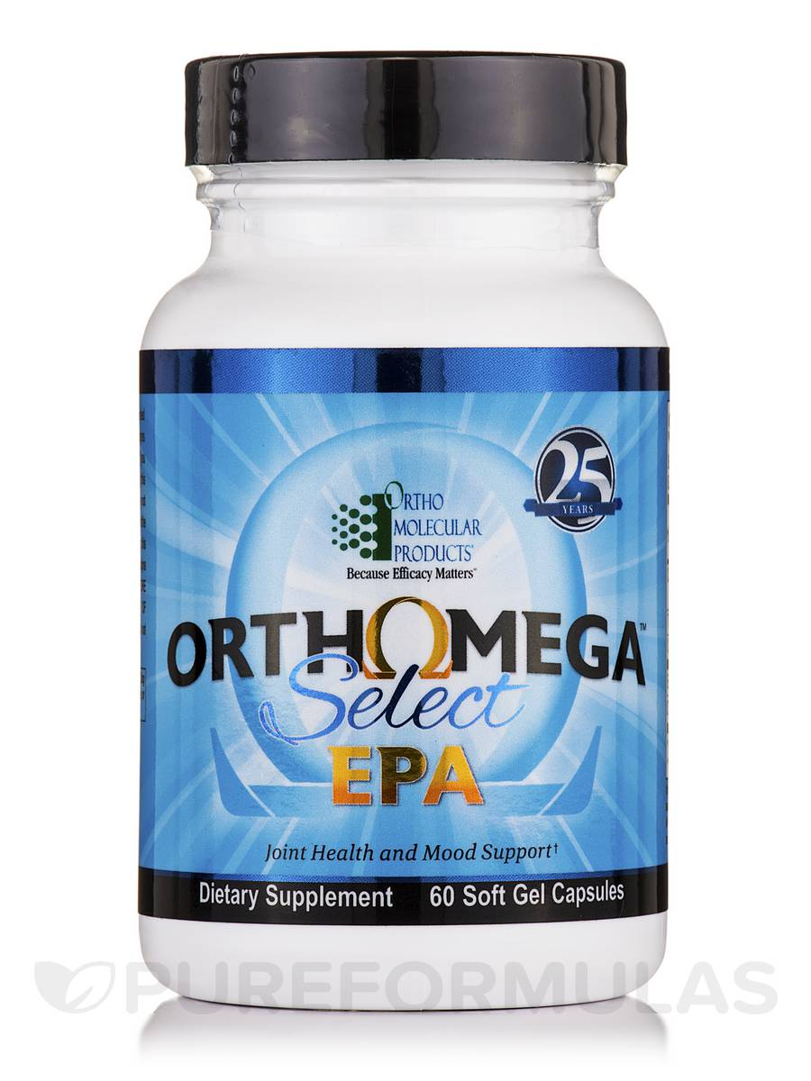 Orthomega Select EPA - 60 Soft Gel Capsules