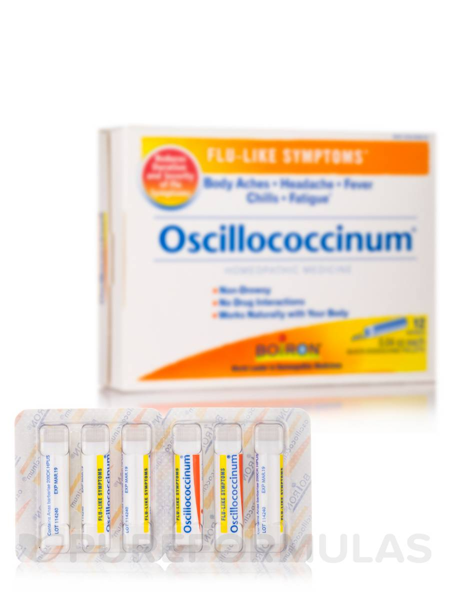 Oscillococcinum® (Flu-Like Symptoms) - 12 Doses (0.04 oz each)