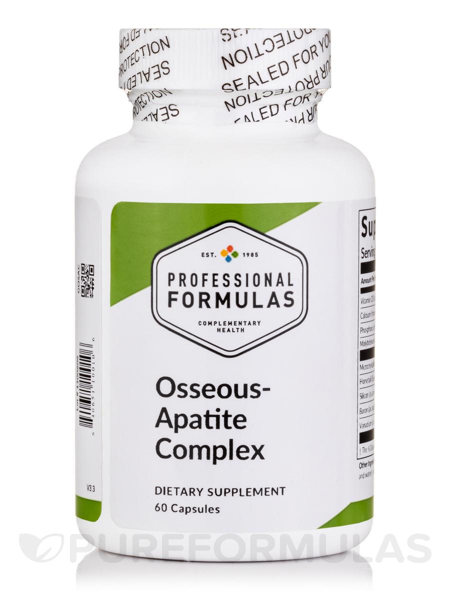 Osseous-Apatite Complex - 60 Capsules
