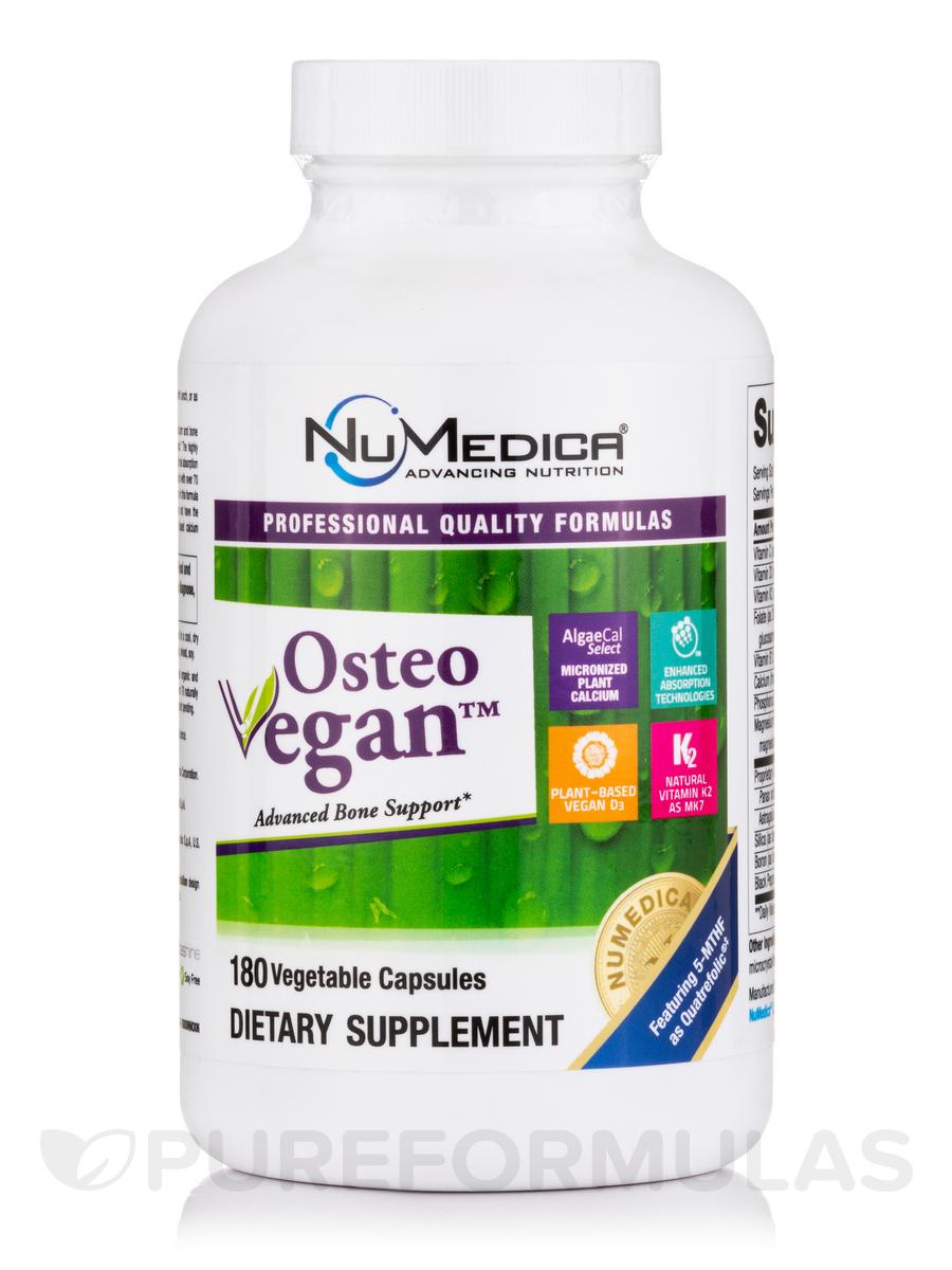 Osteo Vegan™ - 180 Vegtable Capsules