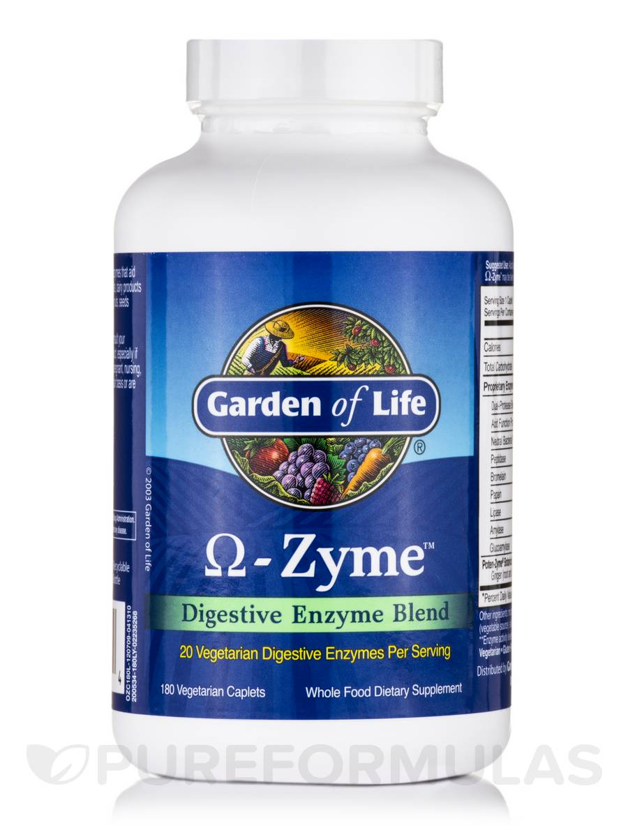 O-Zyme™ - 180 Vegetarian Caplets