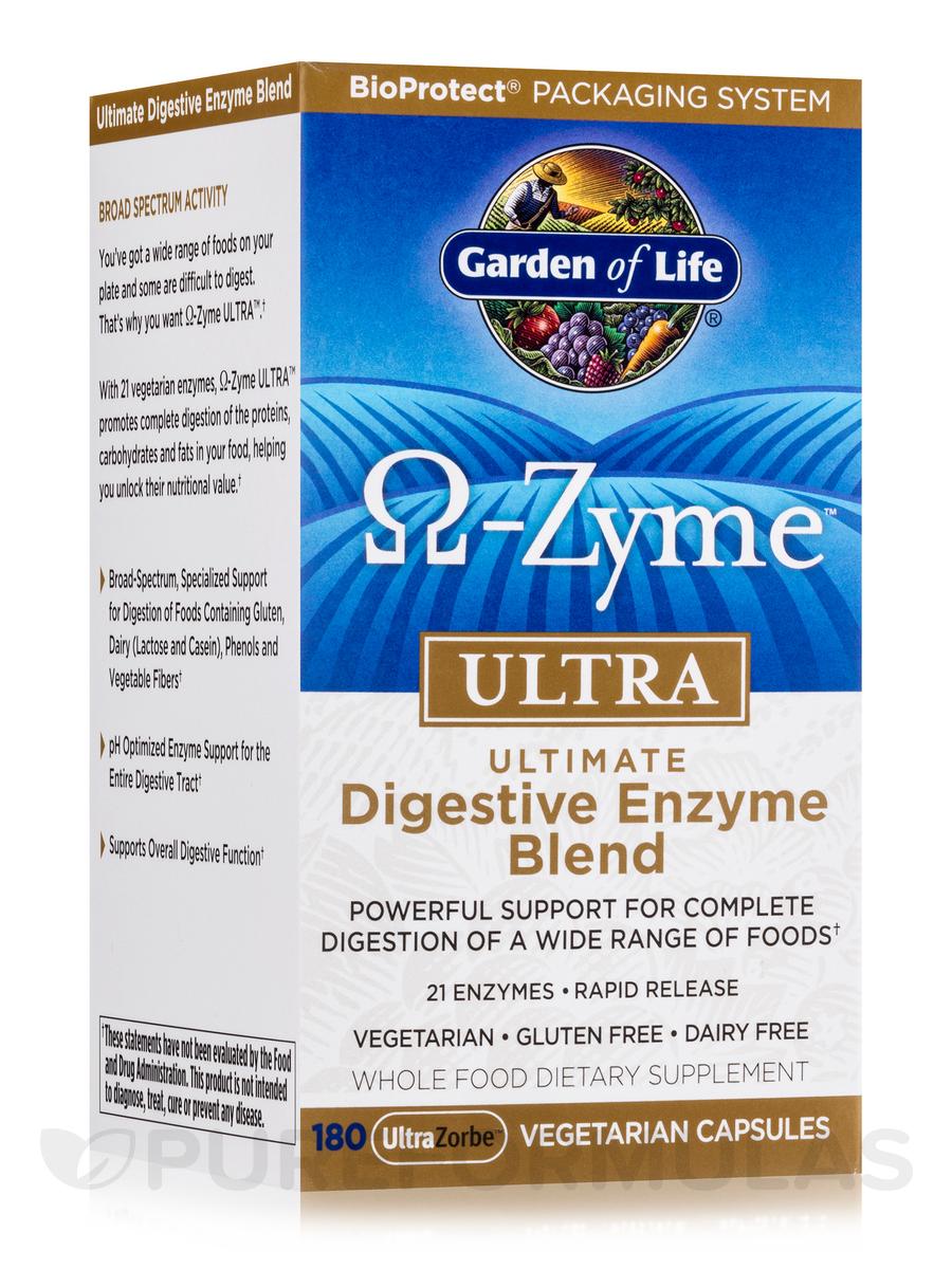 O-Zyme™ ULTRA - 180 Vegetarian Capsules